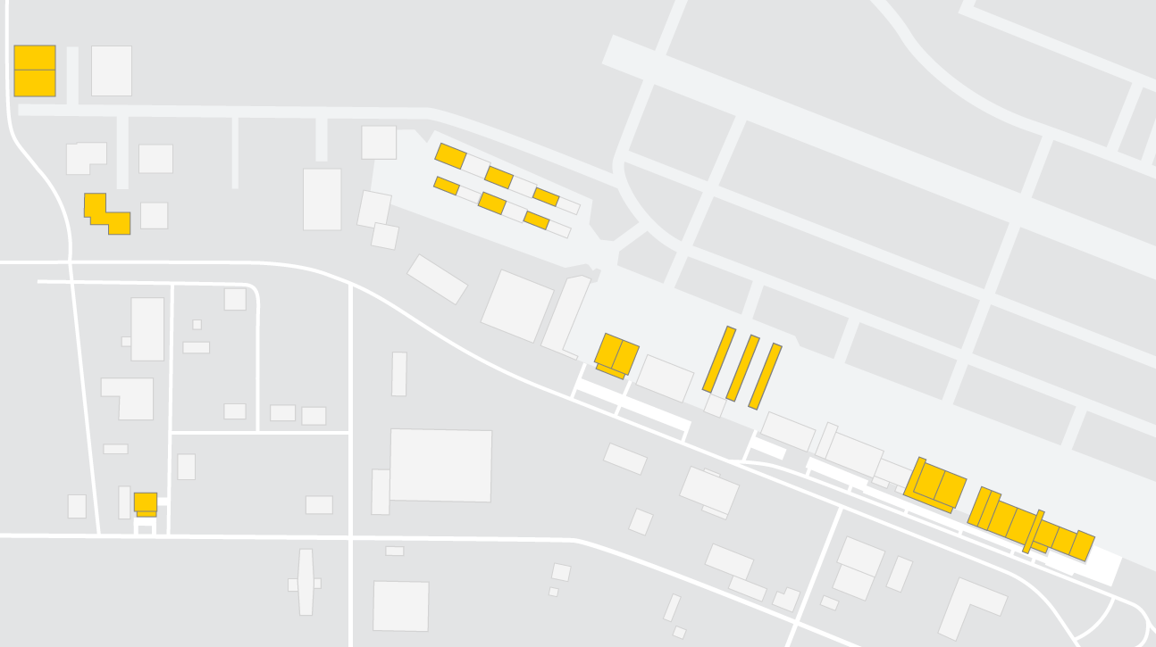 Yingling Aviation campus map