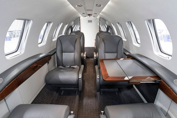 custom Citation interior
