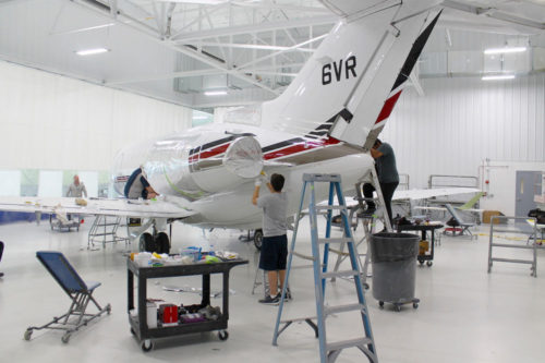 Yingling Aviation MRO expansion
