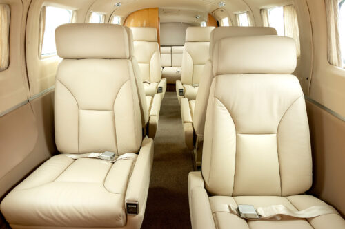 Cessna 441 Conquest interior refurbishment