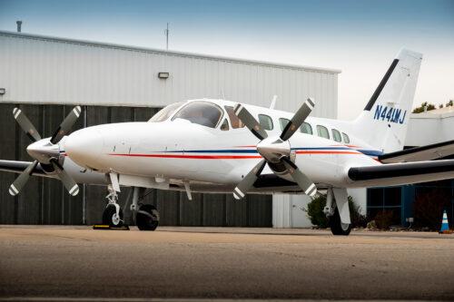 Cessna 441 Conquest repaint