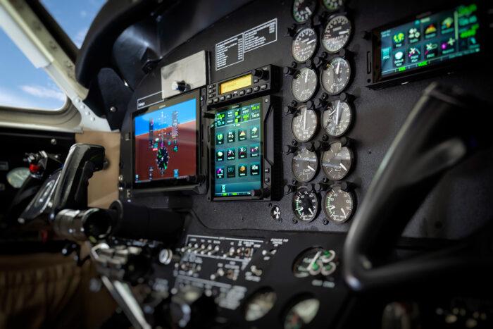 avionics panels refurbishment