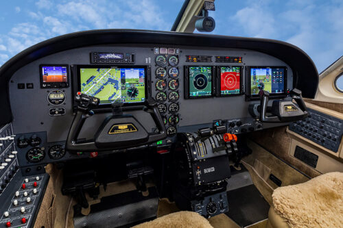 Conquest avionics upgrade