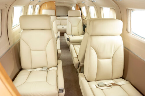 upgraded interior Cessna 441 Conquest