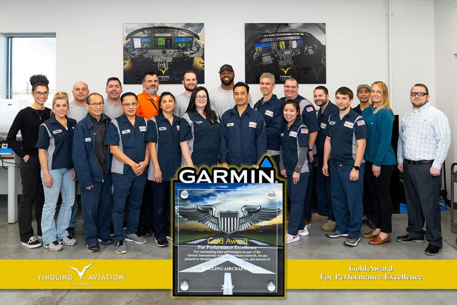 Garmin Top Dealer Award