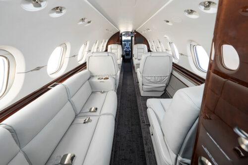Hawker custom interior