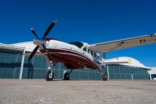 Cessna Caravan strip and paint