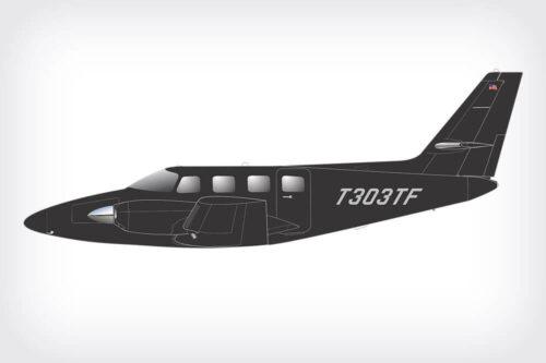 Cessna Crusader paint design