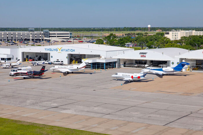 Yingling Aviation hangars