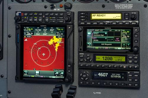Cessna 414 avionics upgrade