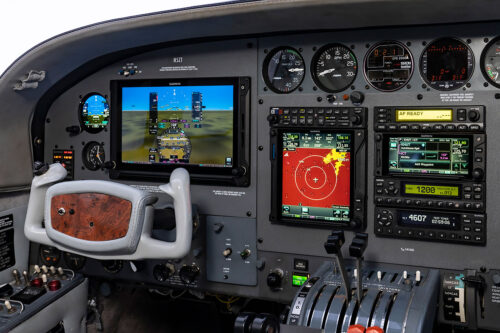 Cessna 414 panel update