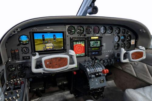 Cessna 414 panel upgrade