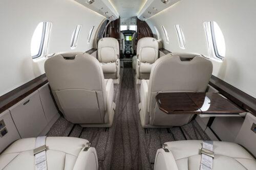 Citation Excel Eagle interior